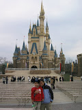 Maria and Kai at Cinderella's Castle