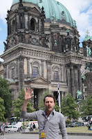 Tour guide David, who looks like John
