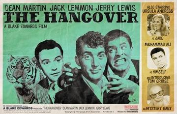 hangover poster dean martin retro