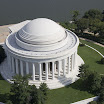 Top View of Jefferson Memorial
