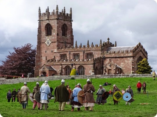 Vikings and St Michaels and All Angels Parish Church