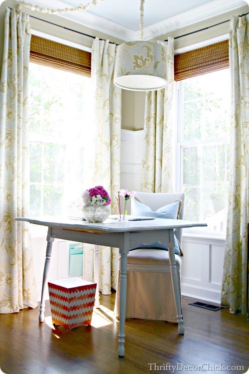 farmhouse table desk