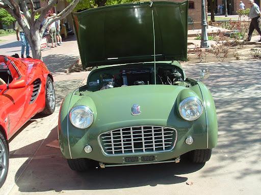 1957 Triumph TR3 - Front