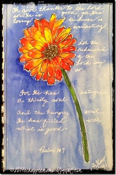 gerber daisy Psalm