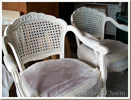 louis cane back chairs 021a
