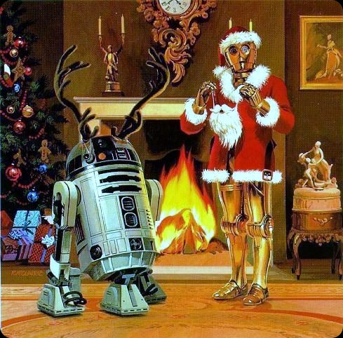 a merry christmas star wars style
