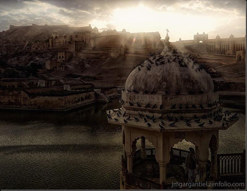 La Forteresse de Jaipur... Impressionante et absolument magnifique!!!
