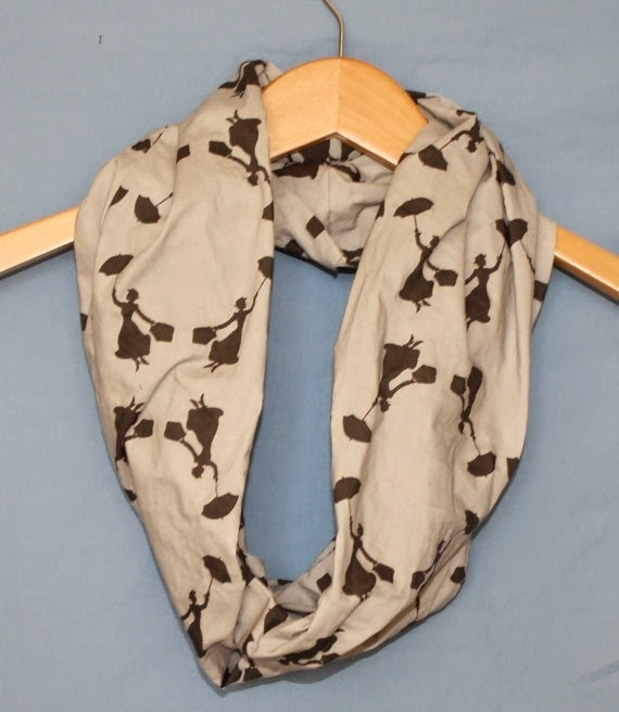 Mary Poppins Infinity Scarf from Sassy Skirts For Gals