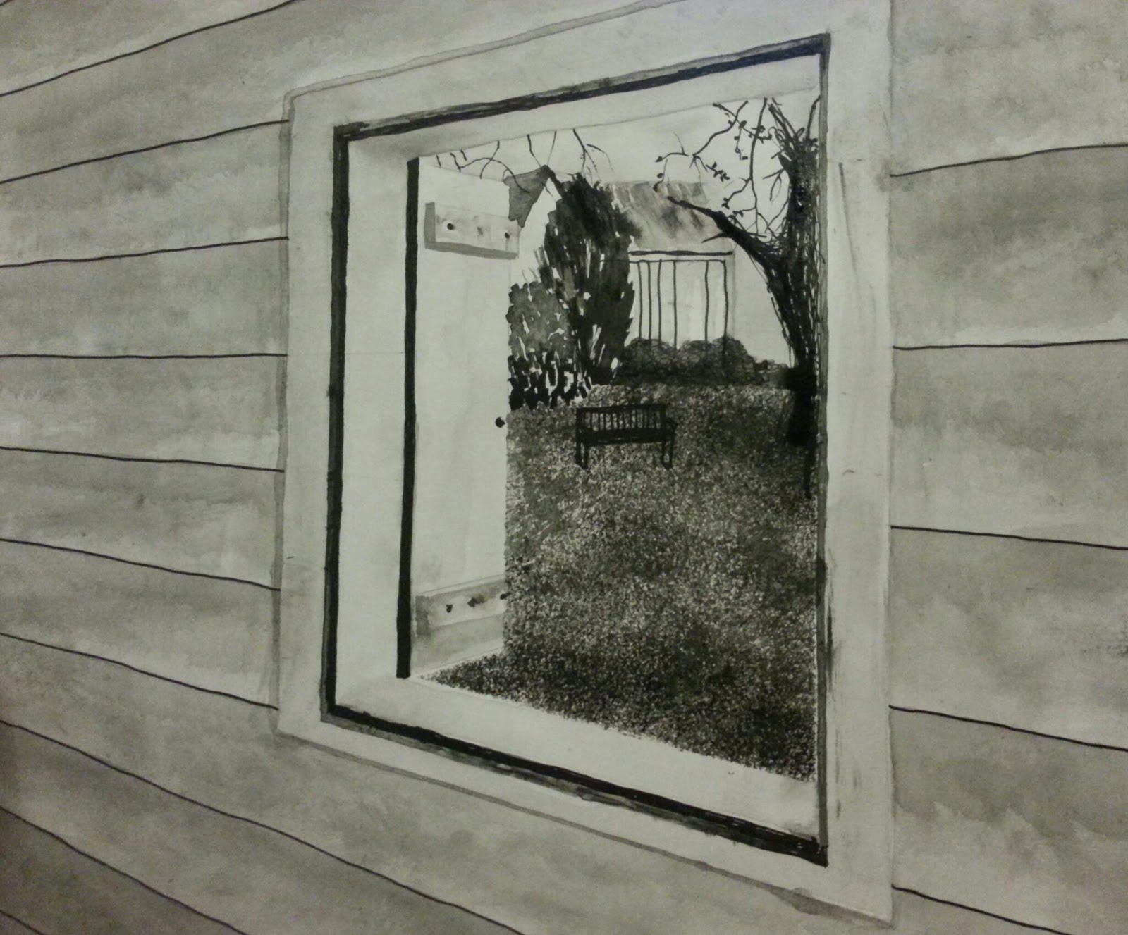 Drawing Straight Lines With Brush In Photo : Sarah bayly oca textiles: assignment 3