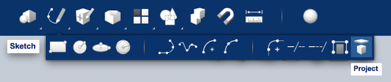 Project Toolbar