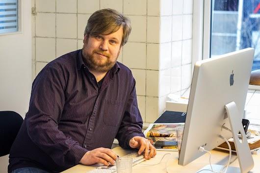 Mikkel Bækgaard på sit kontor