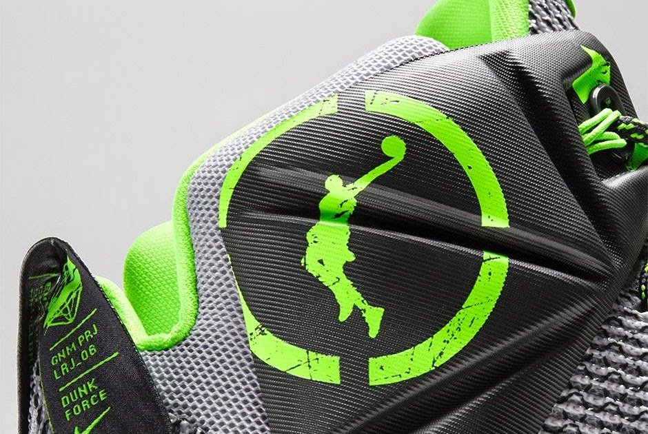 6ad7b1c841bc Nike LeBron 12 8220Dunk Force8221 Official Look and Release Information ...