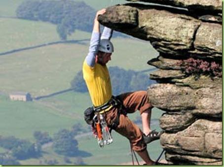 cliff climbing-gear
