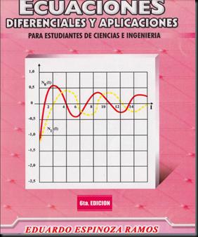 ECUACIONES DIFERENCIALES Y APLICACIONES - ESPINOZA RAMOS