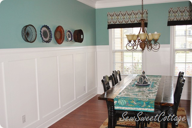 Sew Sweet Cottage Board And Batten How I Love Theemy Dining Room - Board and batten dining room