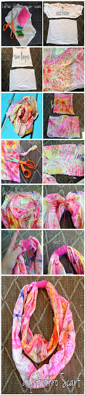 DIY anthropologie scarf 1