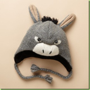 kids donkey thinking cap hat