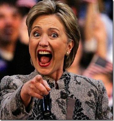 Hillary Clinton hysterical