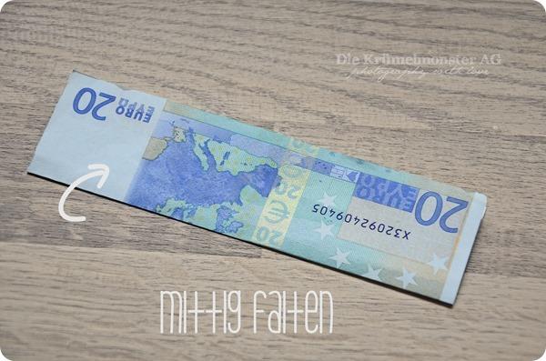 DIY Geld falten - Mein letztes Hemd (2)