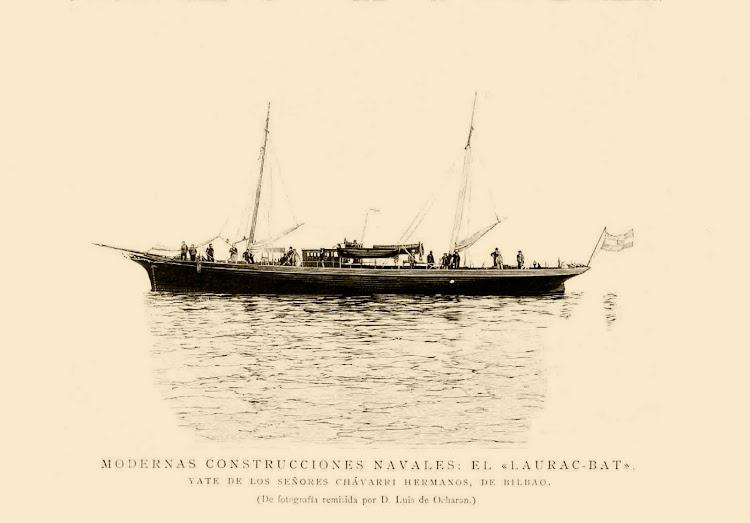 El LAURAC BAT. Grabado de la ILUSTRACION ESPAÑOLA Y AMERICANA. De la web MONOGRAFIAS HISTORICAS DE PORTUGALETE.jpg