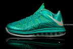nike lebron 10 low ss green white 2 02 LEBRON X LOW, KOBE 8 and KD V   Nike Easter Collection