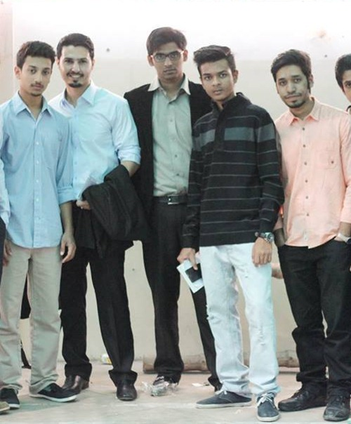 Mohammad with Rafay Baloch