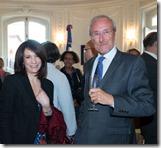 6- Los señores Inés Tolentino y Philippe Letrillart