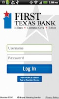 Screenshot of The First Texas Bank Killeen