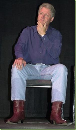 bill clinton jeans