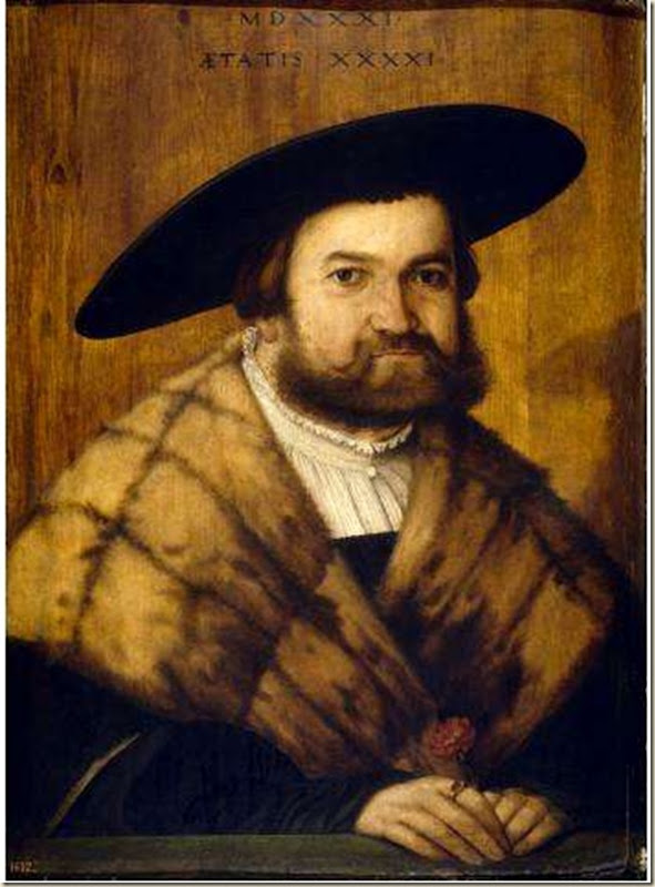Amberger, Portrait d'homme