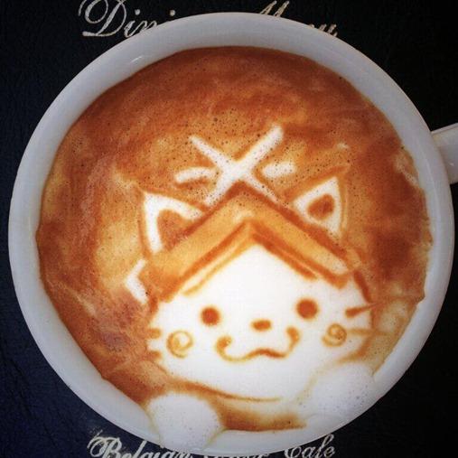 Arte em café 6