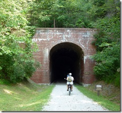 Bonds Creek Tunnel (353 feet long)