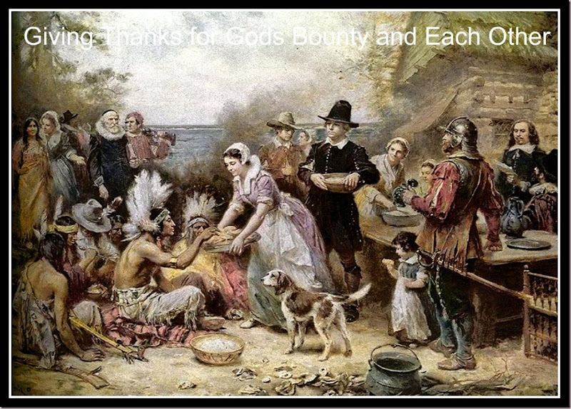The First Thanksgiving. By Jean Louis Gerome Ferris