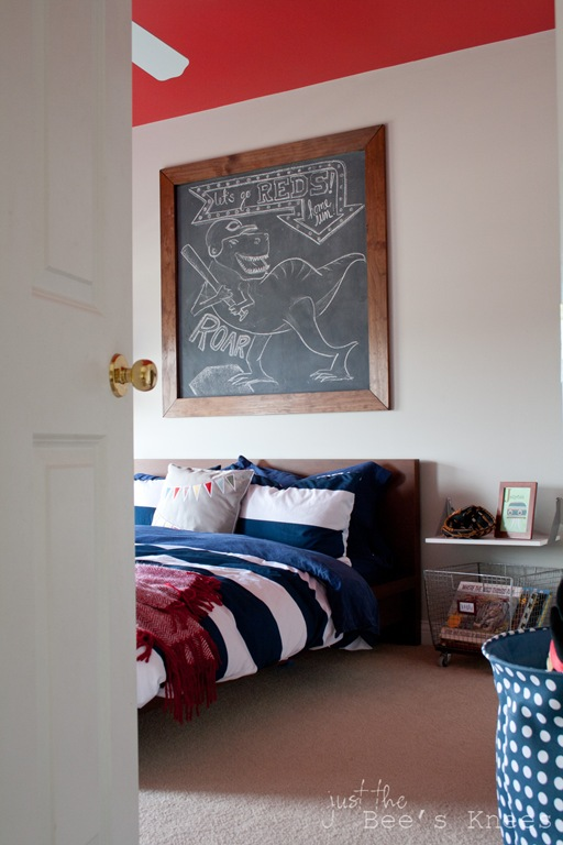 Toddler boys room from Just The Bee's Knees