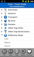 Screenshot of Cuba - FREE Travel Guide