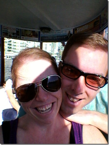 Riding the False Creek Ferry