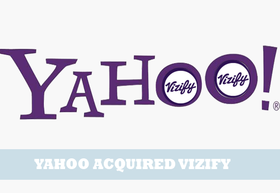 yahoo acquired vizify