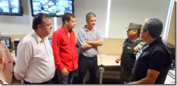 Efectivos de Gendarmería Nacional y Policía de Seguridad Aeroportuaria se incorporaron recientemente a los operativos de control en todo el distrito.