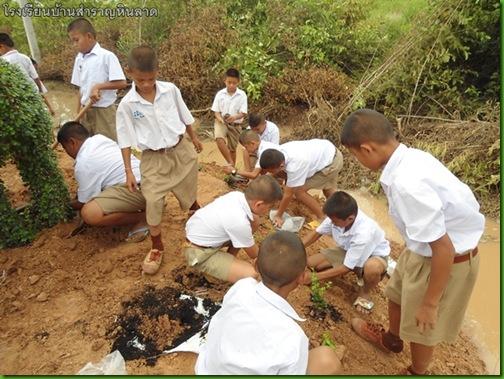 โรงเรียนบ้านรสำราญหินลาด047ปัจฉิมนิเทศ ป.6 2553