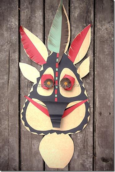 mascaras caseras africanas para isfraz todohalloween (3)