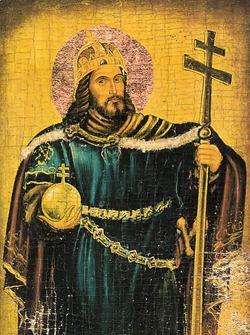 Santo Esteban, rey de Hungría