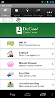 Screenshot of DuGood FCU