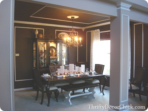 Dining room built ins from Thrifty Decor Chick