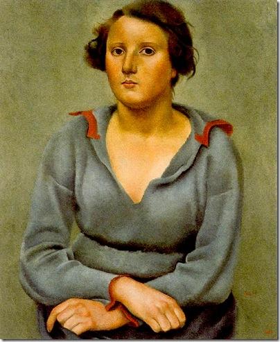 Josep de Togores i Llach -Mujer sentada -1922