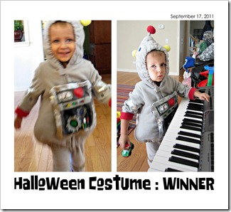 Halloween Costume (Buzz Robot) - WINNER - 09-17-11
