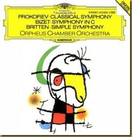 Prokofiev Sinfonía Clásica Orpheus