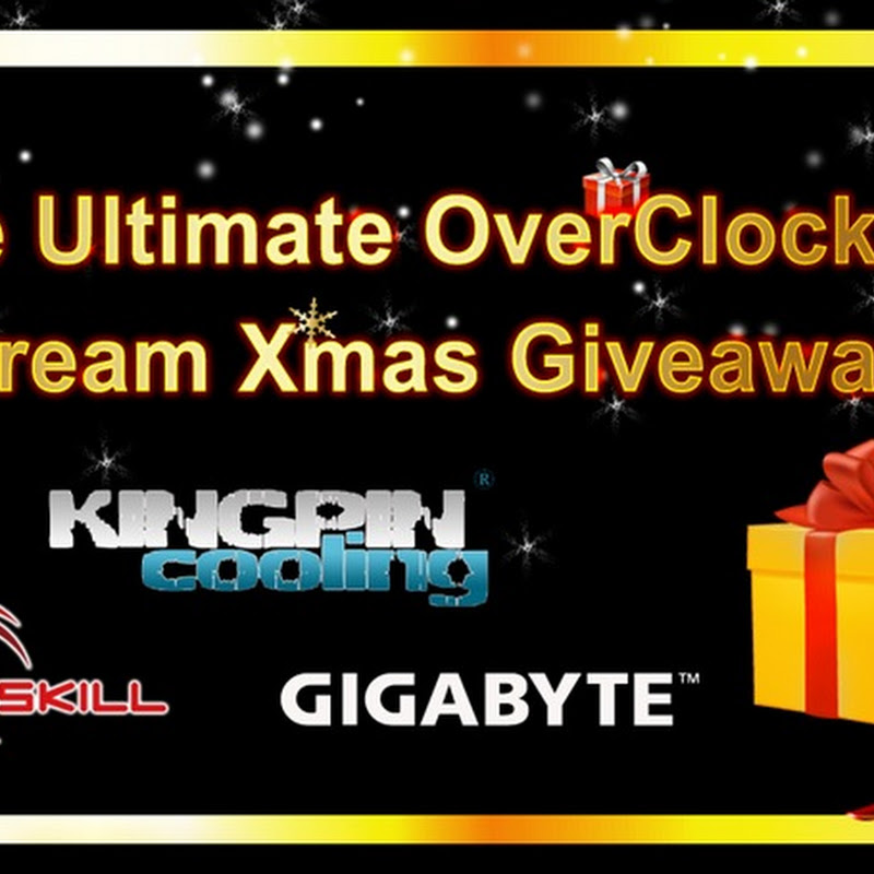 Introducing the 'The Ultimate OverClockers Dream Giveaway'