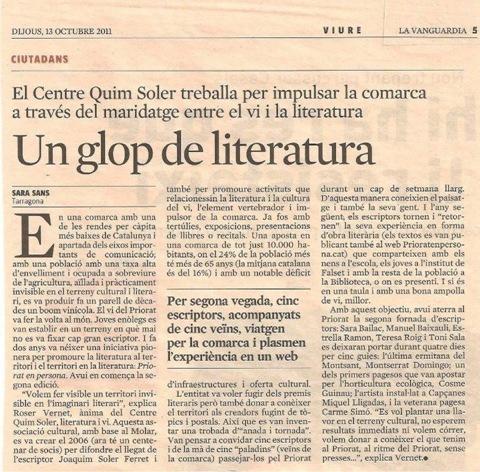 Vin e literatura