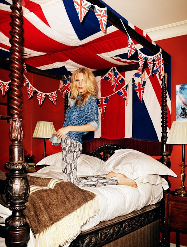 poppy delevingne for elle