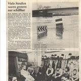 Das Saarland versinkt im Hochwasser